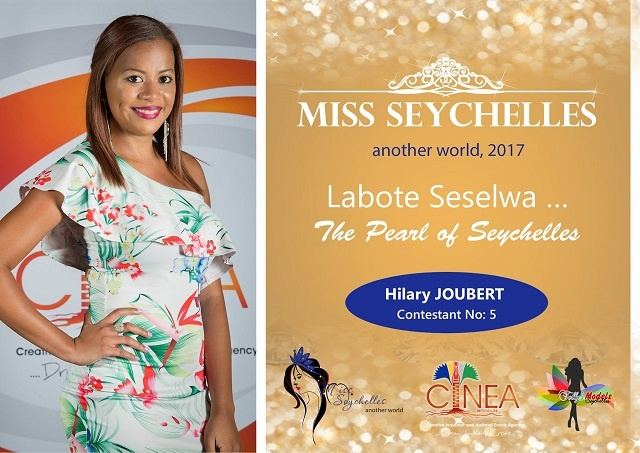 Miss Seychelles beauty pageant to help contestant Hillary Joubert improve self esteem
