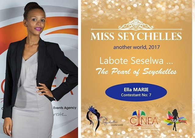 Miss Seychelles pageant a platform for contestant Ella Marie to promote island nation