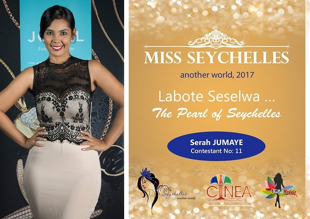 Miss Seychelles contestant Serah Jumaye works to help the mentally ill