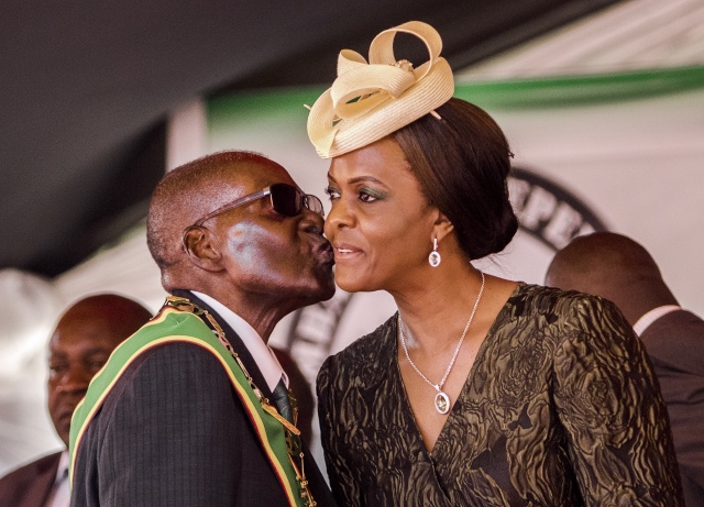 Grace Mugabe due at S. Africa summit after assault claim