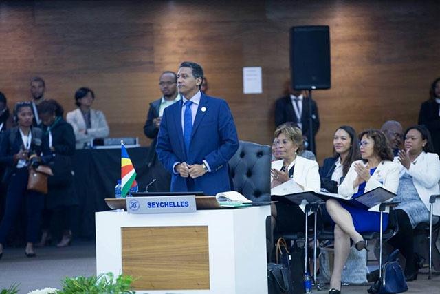 Le président Faure réaffirme l'engagement des Seychelles aux efforts collectifs de la SADC.