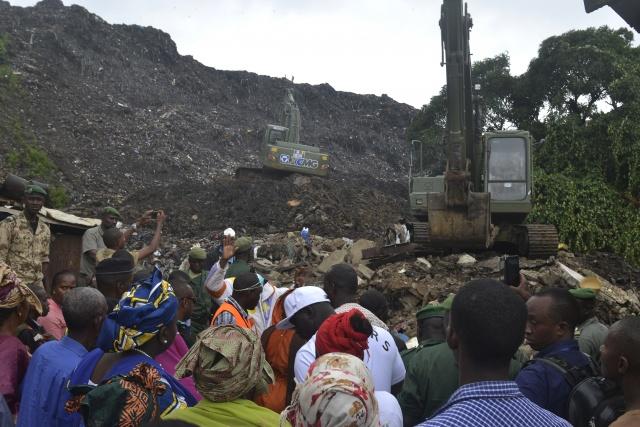 Eight killed in Guinea in rubbish dump landslide