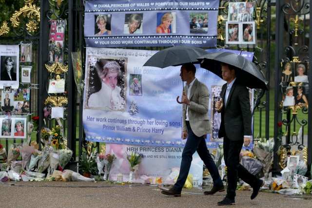 Diana mourned on 20th anniversary of her death