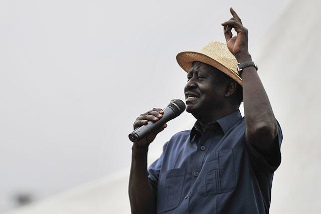 Kenya: Odinga pose des conditions à sa participation à la présidentielle du 17 octobre