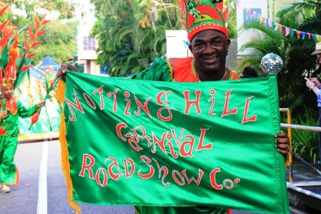 Le carnaval international des Seychelles s'est intégré au festival créole de cette année dans une procession colorée.