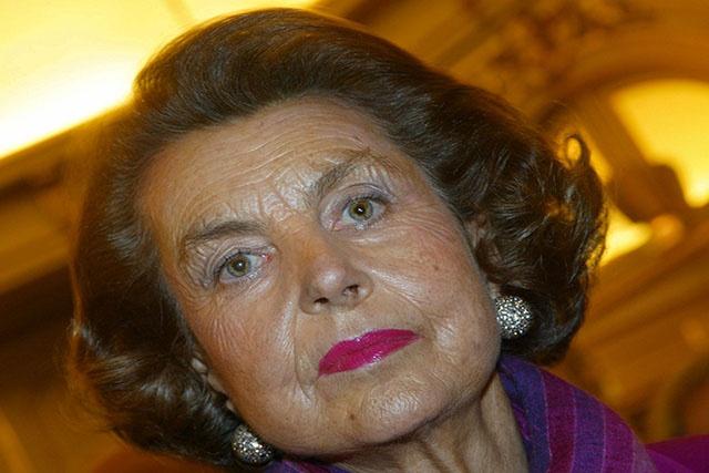 Décès de Liliane Bettencourt, l'héritière milliardaire de L'Oréal