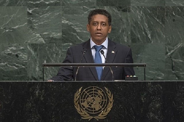 UN General Assembly: Seychelles' president urges action on climate-related disasters