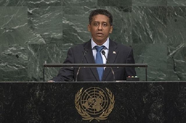 Les Seychelles plaident pour une action contre les catastrophes climatiques à la tribune de l'Assemblée générale de l'ONU