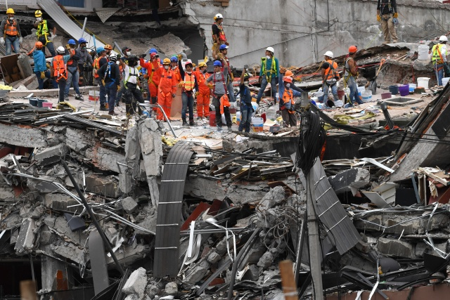 Five days on, hopes fade in Mexico City quake rescue operations