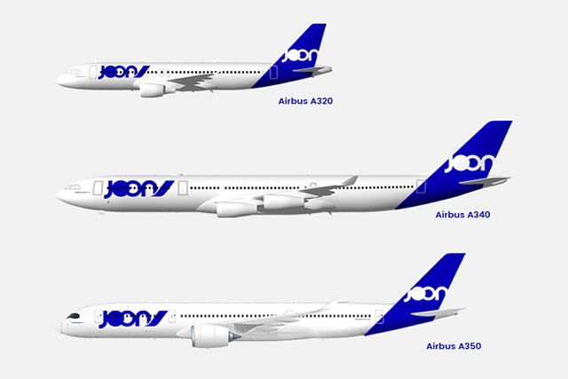 « Joon » , une nouvelle compagnie d'Air France proposera, en 2018 des vols sur les Seychelles à très bas prix.