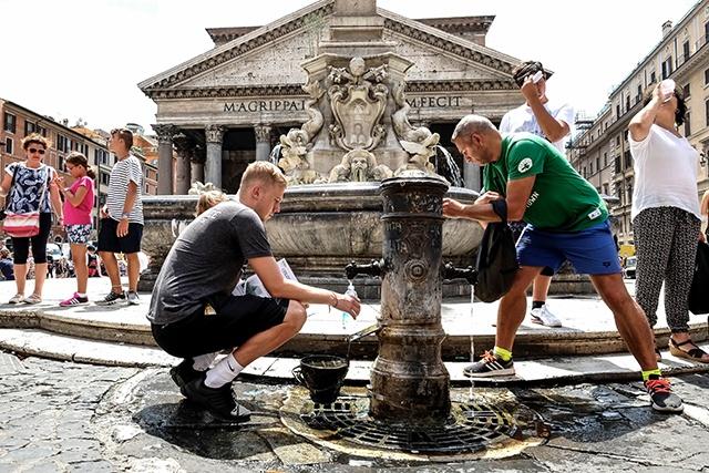 Le réchauffement global derrière la chaleur exceptionnelle de l'été 2017 en Europe