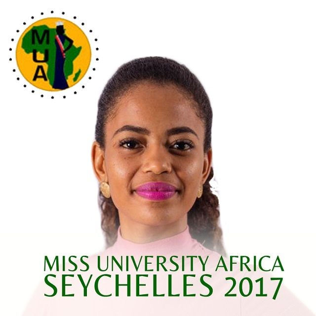 Falaine Dora first Seychellois to participate in Miss University Africa Pageant