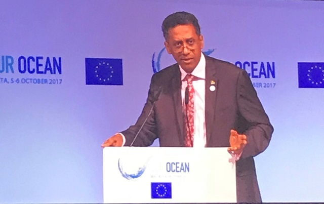 Maritime security cooperation important for Seychelles, president says