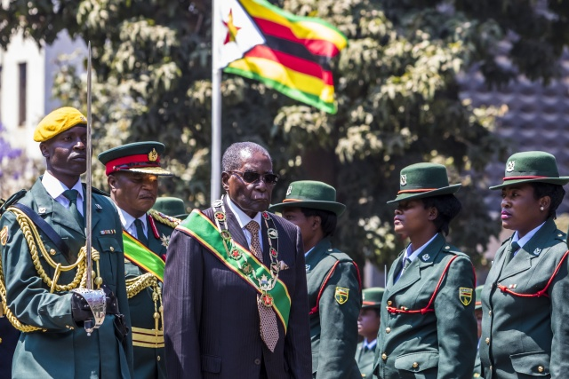 Mugabe snubs a top succession candidate in reshuffle