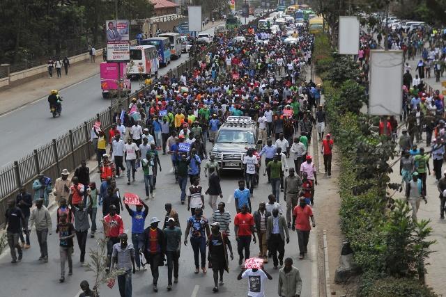 Kenyan opposition leader Odinga abandons poll re-run