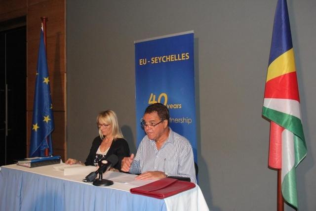 Sécurité Maritime, Économie Bleue, les centres d'intérêt principaux de l'Union Européenne concernant les Seychelles.