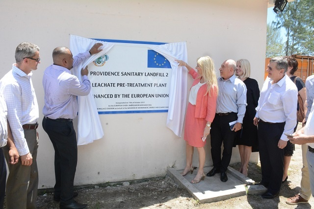 Seychelles opens EU-funded landfill designed to reduce underground pollution, protect water supply