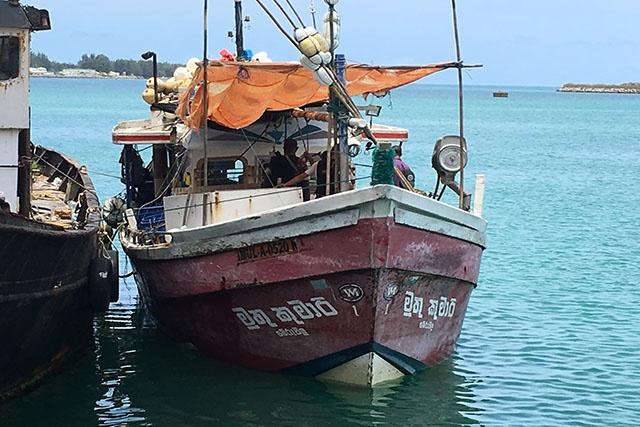 Un navire sri-lankais soupçonné de pêche illégale aux Seychelles a été intercepté.