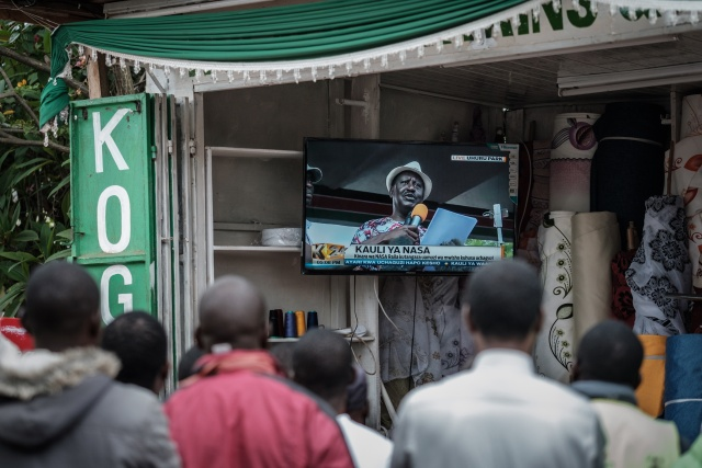 Divided Kenya votes in fractious second election