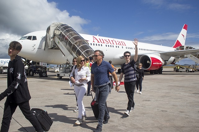 Austrian Airlines makes inaugural flight to Seychelles, latest in expanded flight offerings
