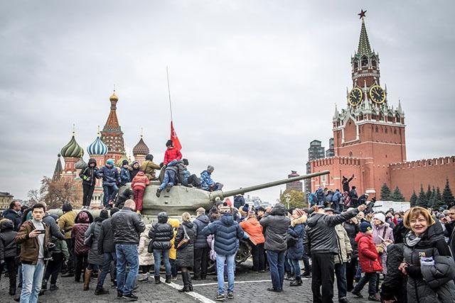 Russie: commémorations modestes pour le centenaire de la Révolution