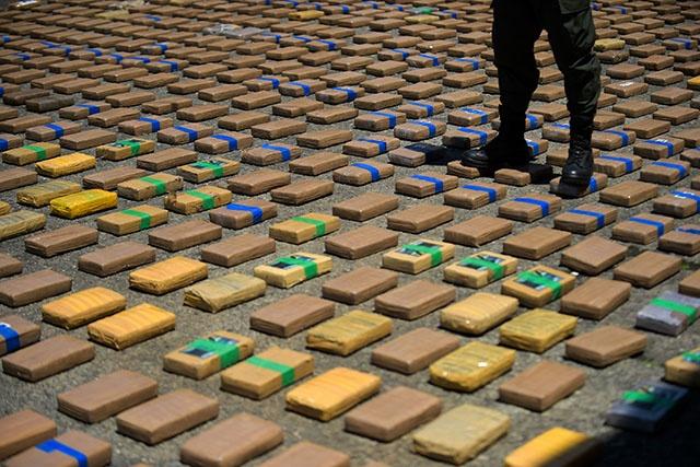 Sous pression de Trump, la Colombie annonce une saisie historique de 12 tonnes de cocaïne