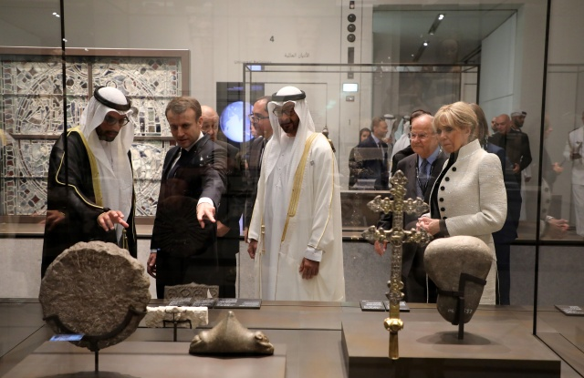 Newly opened Louvre Abu Dhabi a 'bridge between civilisations'