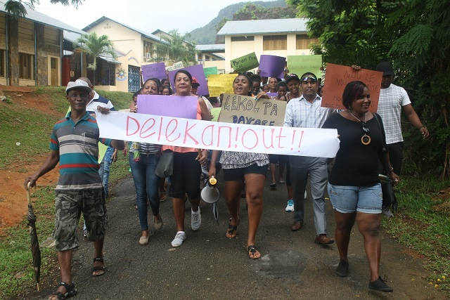 Seychellois teachers march again, demand security at schools