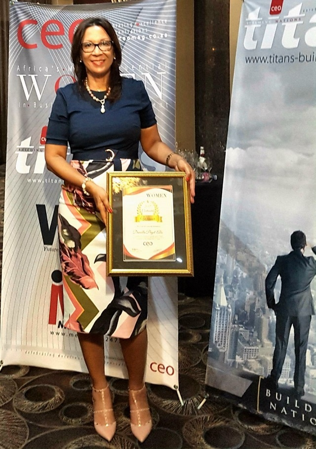 Seychellois businesswoman wins 2nd award of year for work in tourism sector