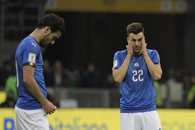 """Mondial-2018: L'""""apocalypse"""" et la """"honte"""" pour la presse italienne"""