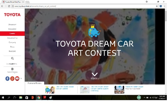 Car drawing contest leans on children's imagination for the future of car travel