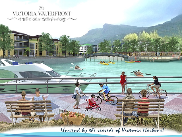 Pedestrian-friendly waterfront project for Seychellois to begin next year