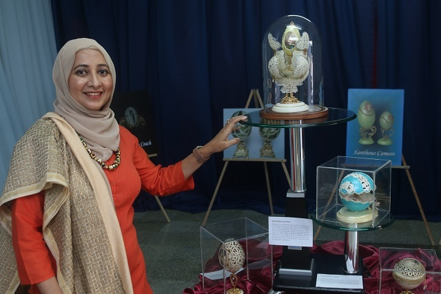 Eggstraordinaire! First exhibition of egg art in Seychelles opens