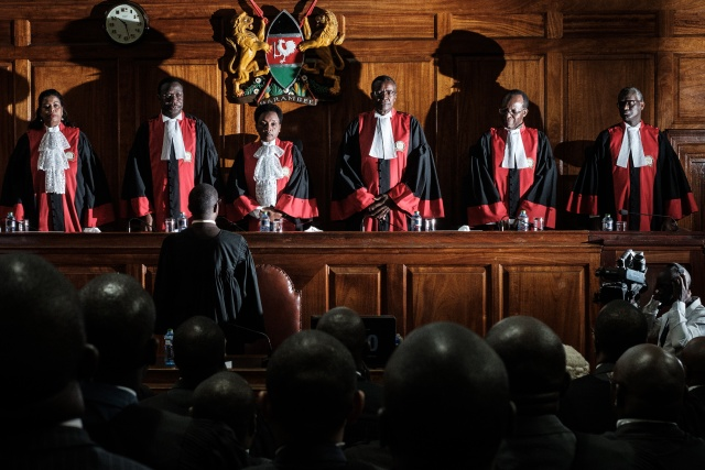 Kenya's Supreme Court upholds Kenyatta election win