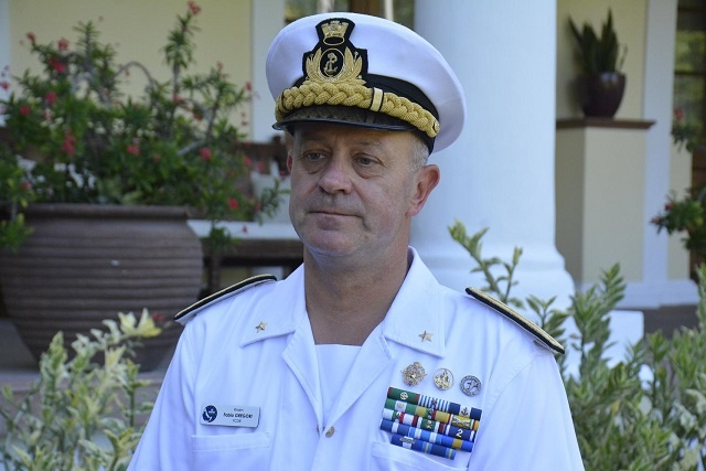 EU naval official offers appreciation for Seychelles' role in piracy fight