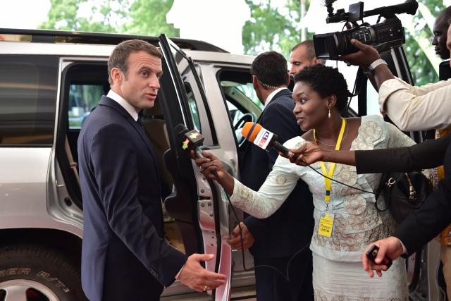 Burkina grenade attack greets Macron's Africa tour