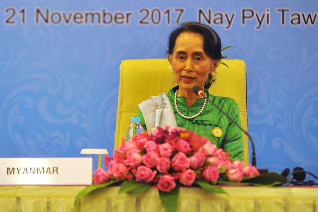 Oxford strips Suu Kyi of city's freedom