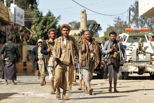 Saudi-led strikes pound Yemen capital after rebels kill Saleh