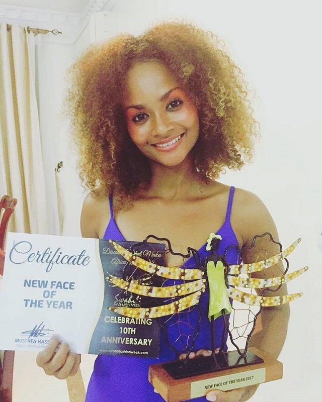 "Seychellois model wins ""New Face of the Year"" at Swahili Fashion Week in Tanzania"