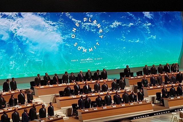 Les Seychelles se joignent au reste du monde pour accélérer la lutte contre les changements climatiques.