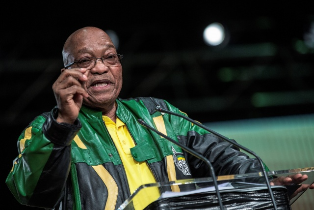 S.Africa's Zuma: Troubled leader heads towards exit