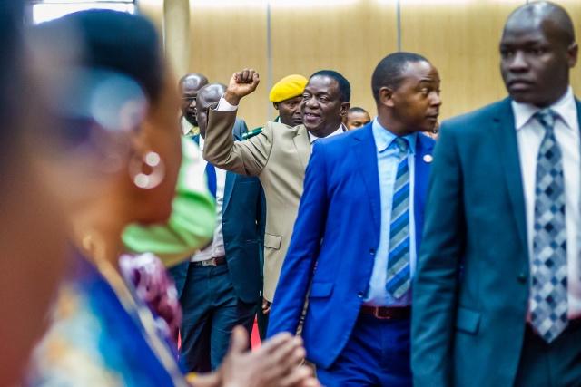 Zimbabwe's Mnangagwa set to strengthen grip at party meeting
