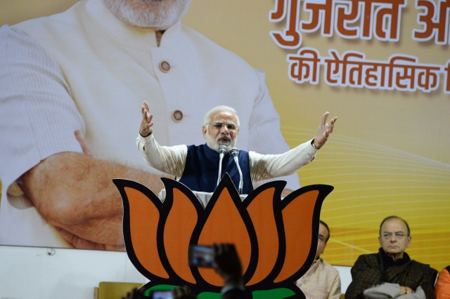 Modi declares victory for ruling party in state elections