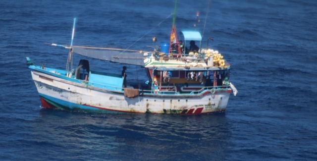 Un deuxième bateau sri-lankais soupçonné de pêche illégale aux Seychelles