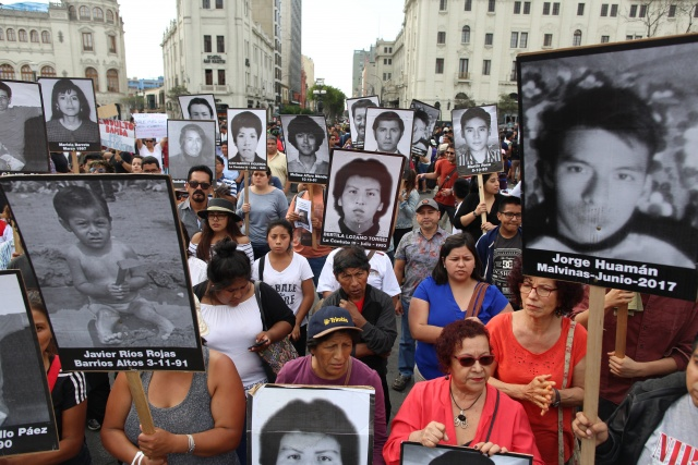 Thousands protest pardon of Peru's ailing ex-president Fujimori