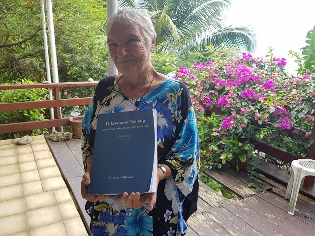 19 years in the works, Seychellois woman publishes Creole-French-English dictionary