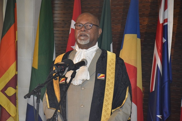 Seychelles hosts speakers of parliament from Commonwealth countries