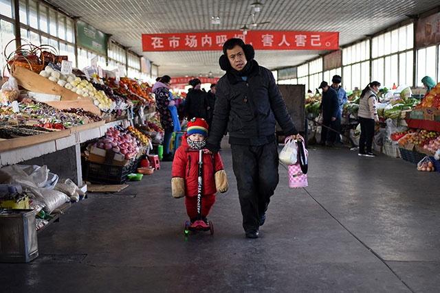 """Chine: croissance attendue """"autour de 6,9%"""" pour 2017"""