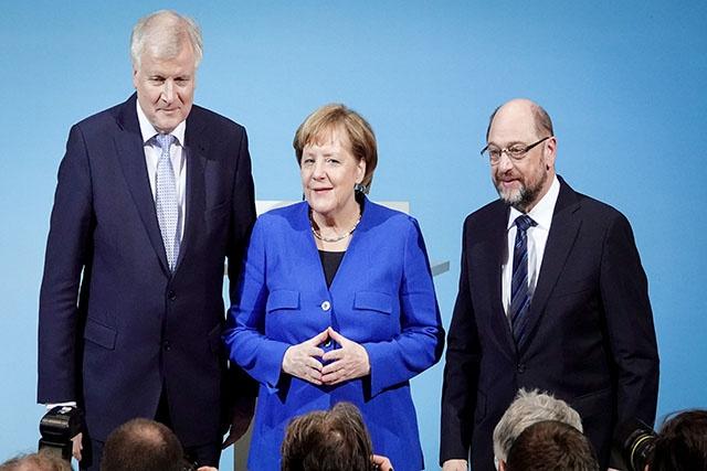 Merkel vers un nouveau mandat placé sous le signe de l'Europe