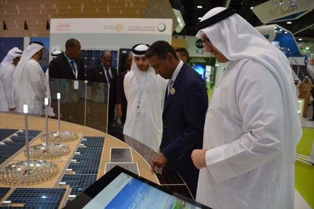 Seychelles, Abu Dhabi leaders meet during World Future Energy Summit